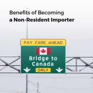 Benefits of Becoming a non resident importer