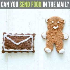 CAN YOU SEND FOOD IN THE MAIL