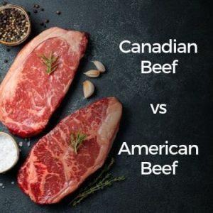 Canadian Beef vs American Beef