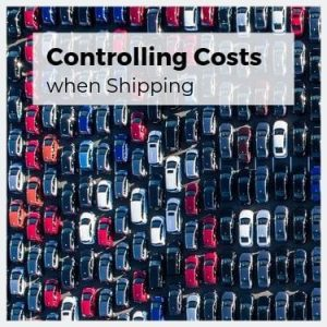 Controlling costs when shipping