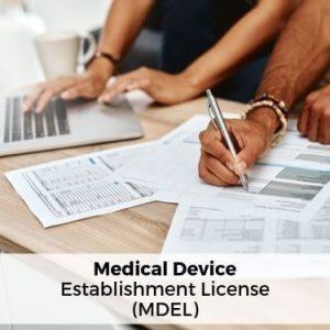 Medical Device Establishment License