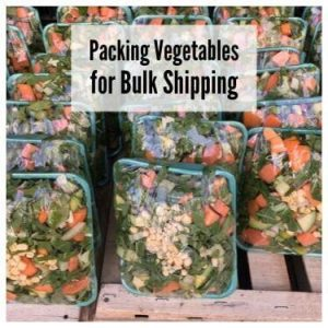Packing Vegetables for Bulk Shipping