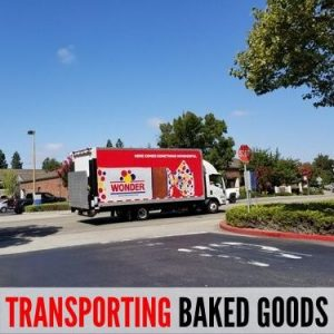 TRANSPORTING BAKED GOODS