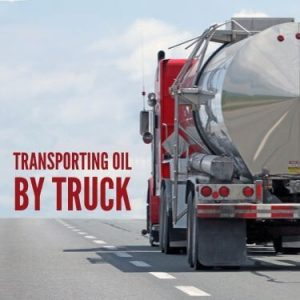 Transporting Oil By Truck