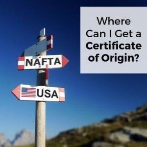 Where Can I Get a Certificate of Origin