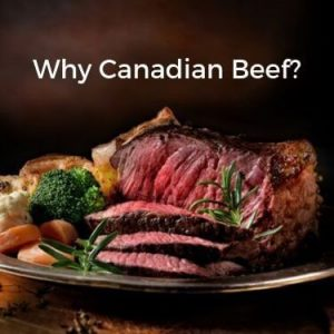 Why Canadian Beef